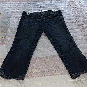 Capri American eagle jeans